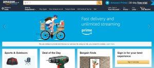 amazon online shopping site uk