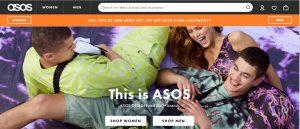 asos online shopping uk