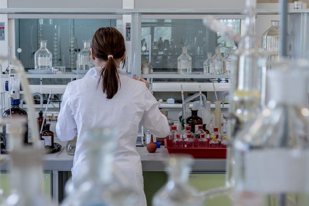 choosing a career in chemistry