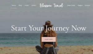 Blossom travel theme