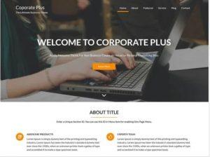 Corporate Plus WordPress Theme