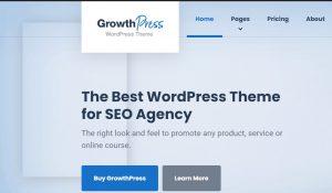 GrowthPress theme for affiliate Marketing