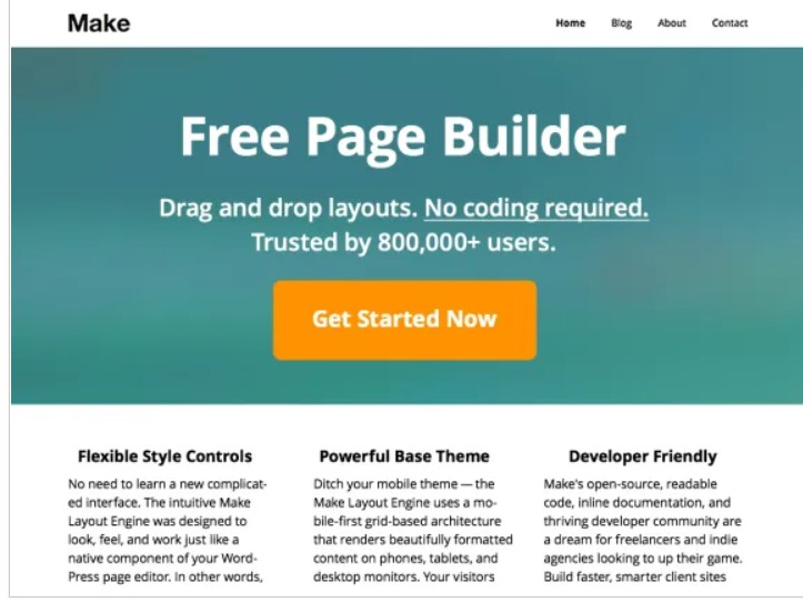 Make theme for online business