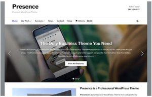 Presence WordPress theme