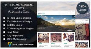 WP news and Scrolling Widgets plugin