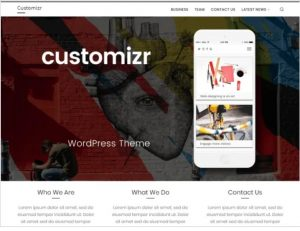 customizr free theme