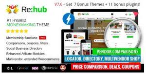 Rehub WordPress theme