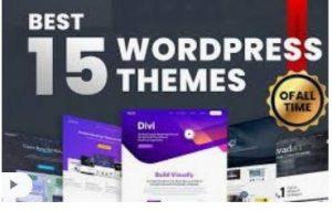 Wordpress themes for blog