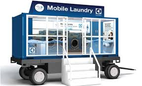 Mobile laundry business