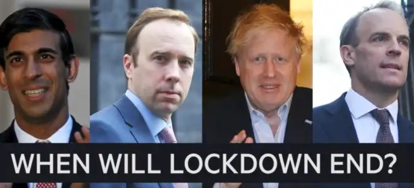 When will Lockdown end